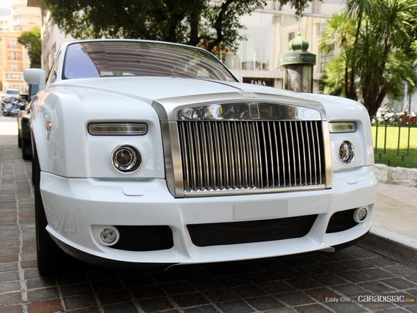 Photos du jour : Rolls Royce Phantom Drophead Mansory Bel Air