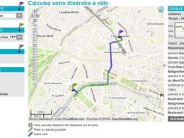 La ville de Paris lance son application de recherche d'itinéraire pour vélos
