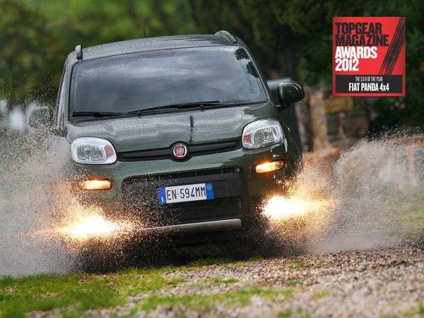 La Fiat Panda 4x4 élue SUV de l'année