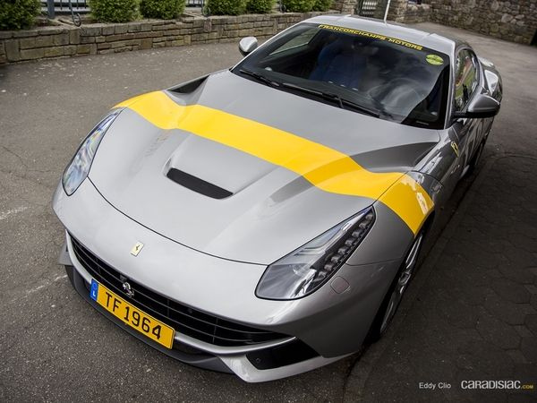 Photos du jour : Ferrari F12 (Spa Classic)
