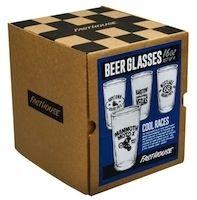 Idée cadeau: des verres à bière signés Fasthouse