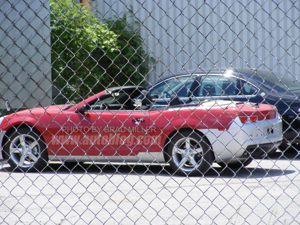 Spyshot : Chevrolet Camaro Cabriolet