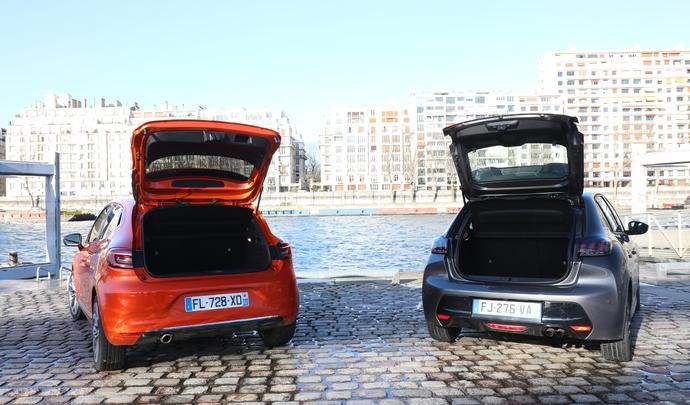Renault a surévalué de 24 % le volume de coffre de sa Clio