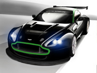 Aston Martin Vantage GT2: impressionnante