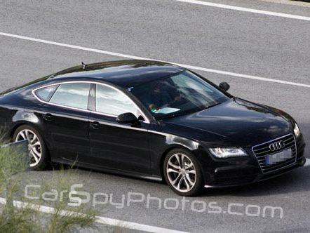 Spyshot : l'Audi S7 entièrement nue