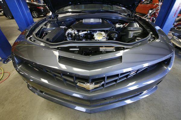 Chevrolet Camaro HPE700 par Hennessey : ouf, ça rentre