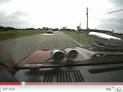 Chevrolet Camaro Z28 Compresseur : la vue est belle