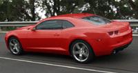 Chevy Camaro: de toutes les couleurs!