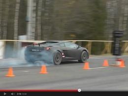 Vidéo - Lamborghini Gallardo Superleggera Total Race : 2100ch et une durée de vie d'une centaine de mètres