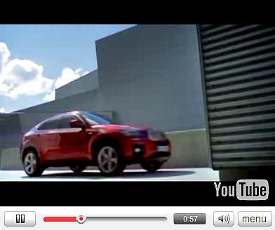 Vidéo: Le BMW X6 débarque aux USA