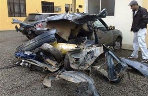 des br siliens cachent de la coca ne dans le reservoir de leur voiture elle explose dans une. Black Bedroom Furniture Sets. Home Design Ideas