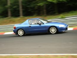 La p'tite sportive du lundi: Honda CRX Del Sol VTi.