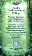 Canada : Ford présente sa politique verte