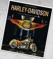 Livre, « Harley-Davidson, 110 Ans d'Histoire avec un Grand H »  séance de dédicaces de Saladini
