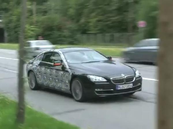 Surprise en vidéo : la future BMW Serie 6 GranCoupe continue ses tests routiers