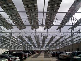 La marine américaine s'apprête à équiper ses parkings de panneaux solaires