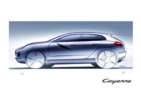 """Porsche prépare un Cayenne """"coupé"""""""