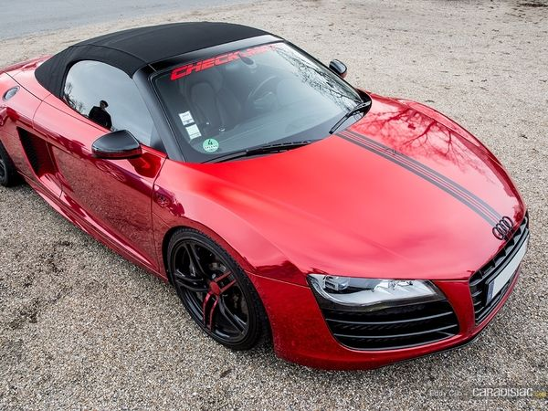 Photos du jour : Audi R8 V10 Spyder (Cars and Coffee Paris)
