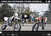 LeoVince met en scène sa ligne X-Fight (vidéo)