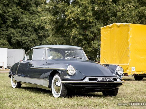 photos du jour citroen ds 19 chapron le paris 1960 concours d rh caradisiac com  citroen ds 19 cabriolet a vendre