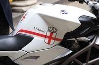 Une MV Agusta Brutale aux couleurs de la ville de Milan