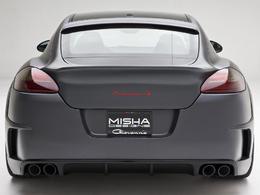 Porsche Panamera Misha Designs. Belle de loin