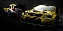 WRC: Suzuki dévoile ses peintures de guerre