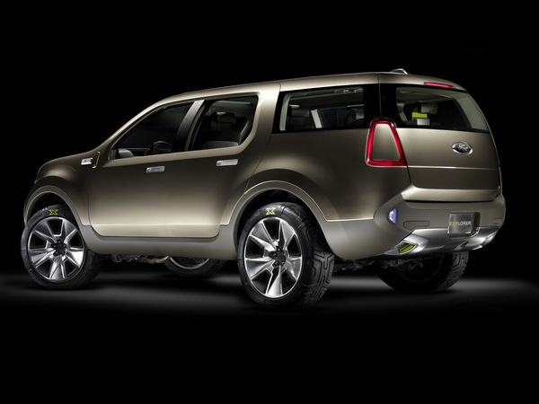 Detroit 2008: Ford Explorer America Concept (50 photos HD)