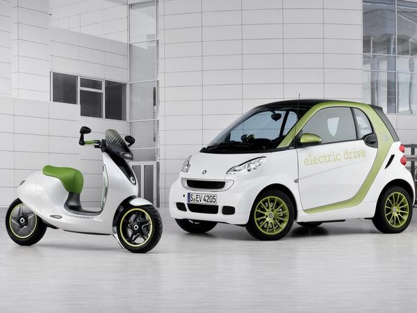 Mondial de Paris 2010 : Smart escooter, vraiment petit