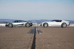 Saab / Koenigsegg : une rencontre prémonitoire