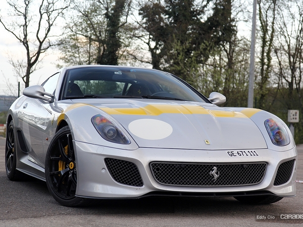 Photos du jour : Ferrari 599 GTO (Tour Auto)