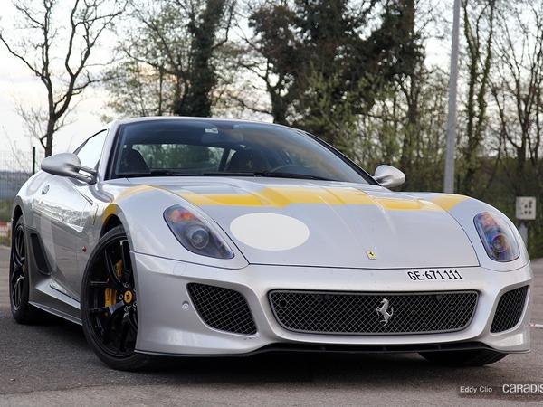 Photos du jour : Ferrari 599 GTO (Tour Auto)