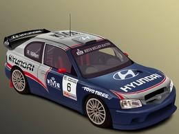 La nouvelle Hyundai WRC de Rhys Millen pour le rallycross