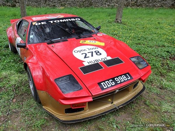 Photos du jour : De Tomaso Pantera Gr.4 (Tour Auto)