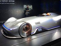Mercedes EQ Silver Arrow : entre passé et avenir - En direct du Mondial de l'Auto 2018