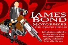 Cinéma - Insolite: Voici toutes les motos de James Bond !