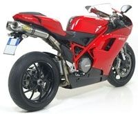 Arrow équipe la Ducati 848