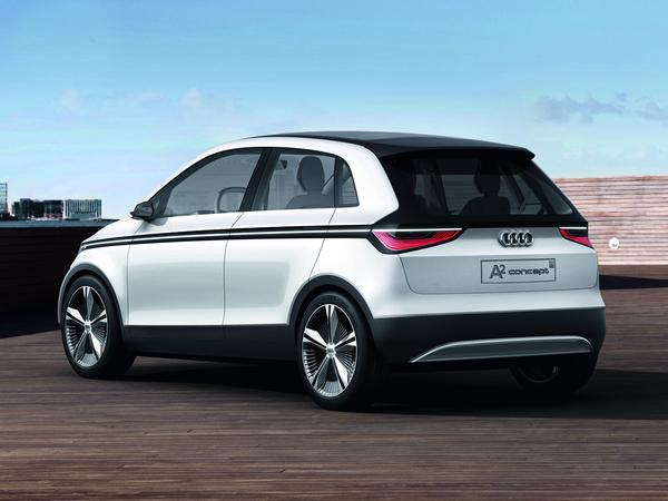 Salon de Francfort 2011 - l'Audi A2 concept en vrai