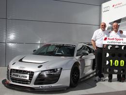 Une nouvelle version pour l'Audi R8 LMS