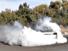 [vidéo] Et maintenant la Tesla Model S fait des burns