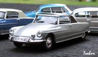 """Miniature : 1/43ème - CITROËN DS21 coupé """"le Dandy"""""""