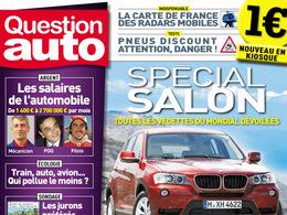 Question Auto  :  un nouveau magazine auto en kiosque pour 1 € seulement