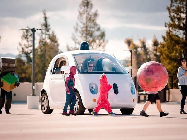 Google veut que sa voiture communique avec le piéton
