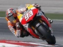 Moto GP - Test Sepang: Une chute pour Marquez mais pas un coup d'arrêt