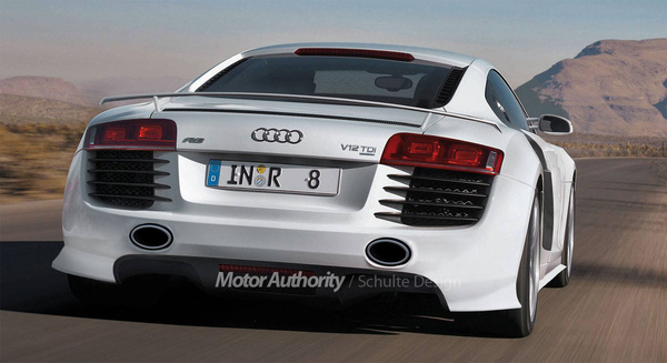 Détroit 2008 : Audi R8 V12 TDI - Acte 2