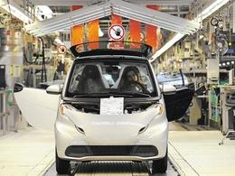 Smart démarre la production de la Fortwo électrique