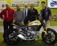 "Ducati Scrambler: ""plus belle moto de l'EICMA 2014"" selon les lecteurs de Motociclismo"