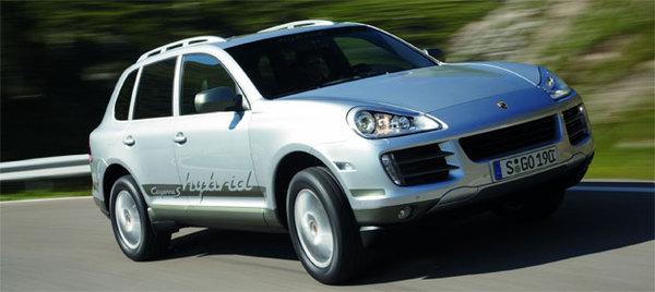 Porsche Cayenne Hybride : pas avant la fin 2010