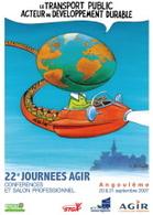 Angoulême : 22e Journées AGIR en septembre 2007
