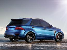 Mercedes ML 63 AMG Inferno TopCar : 760 chevaux